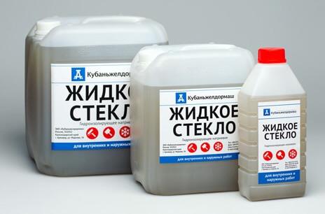 Жидкое стекло для цементного раствора цена бетон застройщик