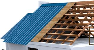 Какой шаг обрешетки для профнастила на крышу