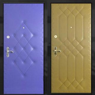 Выбор материала и отделка входной двери своими руками