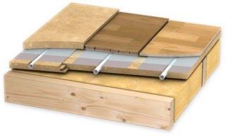 Укладка плитки на деревянный пол своими руками