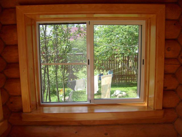 откосы на окна в деревянном доме фото парша, инфекции