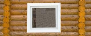 Как самому установить пластиковое окно в деревянном доме