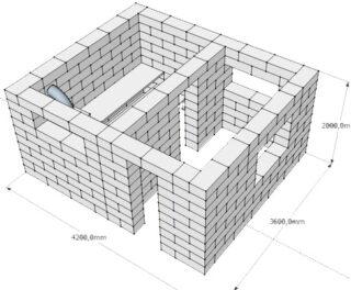 Баня из шлакоблока. Баня из шлакоблоков: преимущества, особенности. Этапы строительства бани из шлакоблоков своими руками