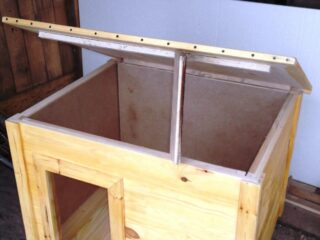 Будка для алабая своими руками: чертежи, размеры, этапы строительства и фото
